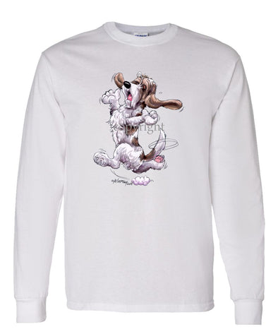 Petit Basset Griffon Vendeen - Happy Dog - Long Sleeve T-Shirt