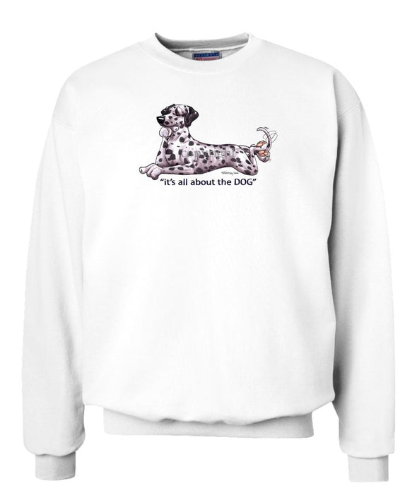 Dalmatian - All About The Dog - Sweatshirt