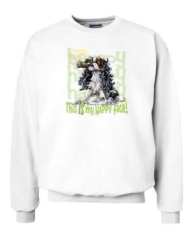 English Toy Spaniel - Who's A Happy Dog - Sweatshirt