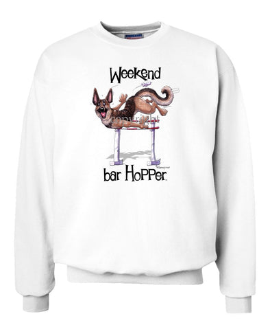 German Shepherd - Weekend Barhopper - Sweatshirt