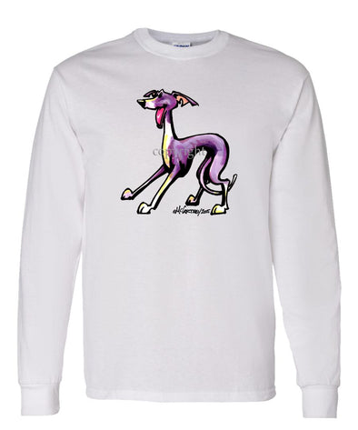 Italian Greyhound - Cool Dog - Long Sleeve T-Shirt