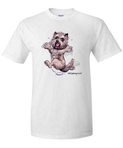 Cairn Terrier - Happy Dog - T-Shirt