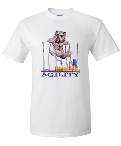 Cairn Terrier - Agility Weave II - T-Shirt