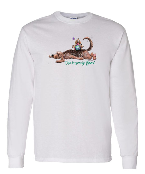 Otterhound - Life Is Pretty Good - Long Sleeve T-Shirt