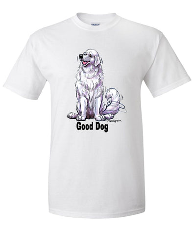 Great Pyrenees - Good Dog - T-Shirt