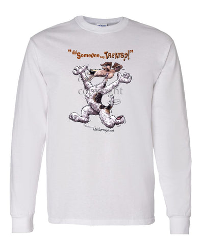 Wire Fox Terrier - Treats - Long Sleeve T-Shirt
