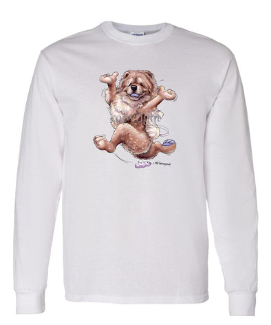 Chow Chow - Happy Dog - Long Sleeve T-Shirt