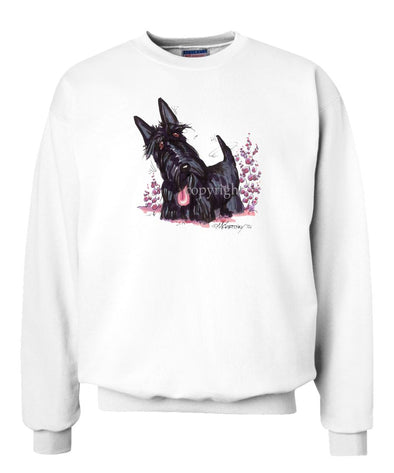 Scottish Terrier - Vintage - Caricature - Sweatshirt
