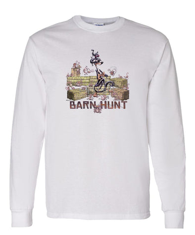 Saluki - Barnhunt - Long Sleeve T-Shirt