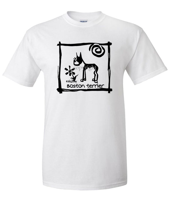Boston Terrier - Cavern Canine - T-Shirt