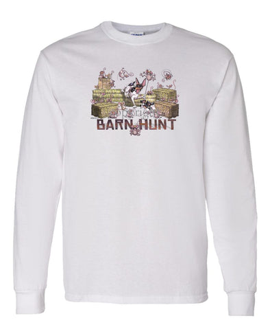 Rat Terrier - 2 - Barnhunt - Long Sleeve T-Shirt