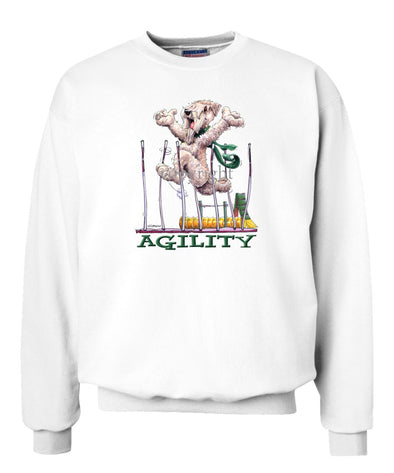 Soft Coated Wheaten - Agility Weave II - Sweatshirt