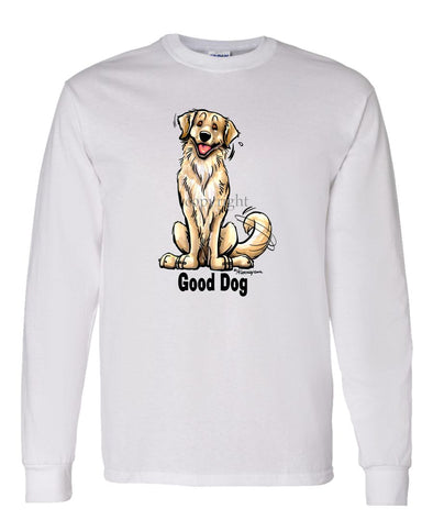 Golden Retriever - Good Dog - Long Sleeve T-Shirt