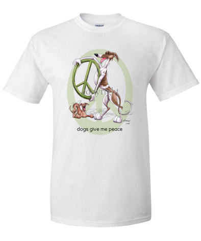Greyhound - Peace Dogs - T-Shirt