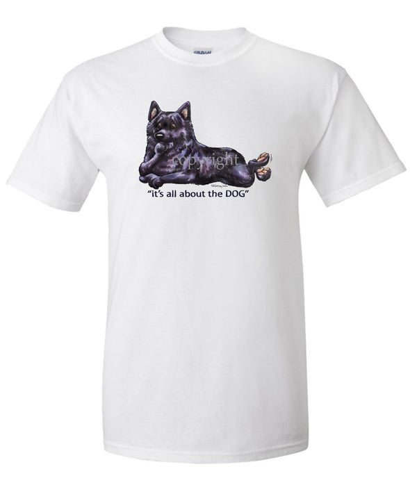 Schipperke - All About The Dog - T-Shirt