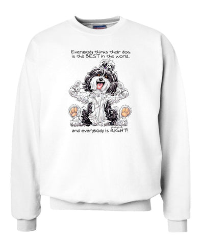 Havanese - Best Dog in the World - Sweatshirt