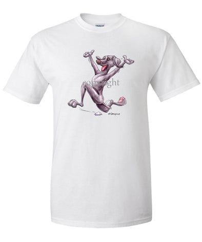 Weimaraner - Happy Dog - T-Shirt