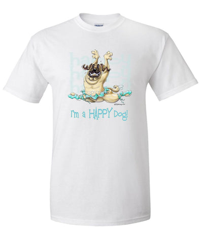 Mastiff - Who's A Happy Dog - T-Shirt
