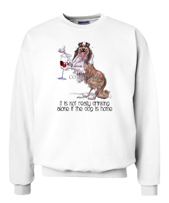 Collie - It's Not Drinking Alone - Sweatshirt