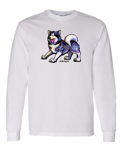 Alaskan Malamute - Cool Dog - Long Sleeve T-Shirt
