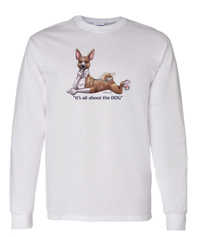 Basenji - All About The Dog - Long Sleeve T-Shirt