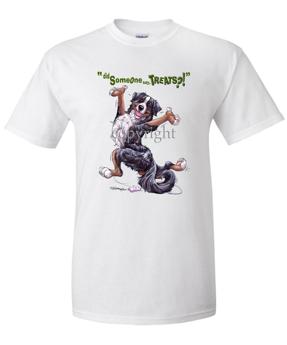 Bernese Mountain Dog - Treats - T-Shirt