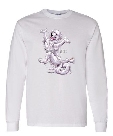Great Pyrenees - Happy Dog - Long Sleeve T-Shirt