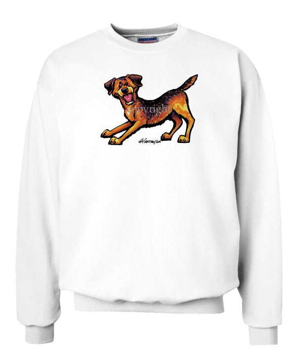 Border Terrier - Cool Dog - Sweatshirt