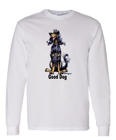 Gordon Setter - Good Dog - Long Sleeve T-Shirt