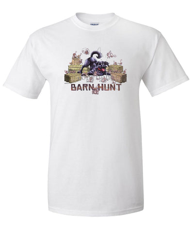 Labrador Retriever  Black - Barnhunt - T-Shirt