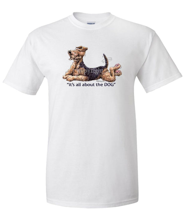 Airedale Terrier - All About The Dog - T-Shirt