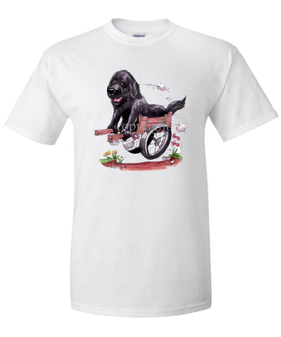 Newfoundland - In Cart - Caricature - T-Shirt