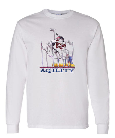 Greyhound - Agility Weave II - Long Sleeve T-Shirt