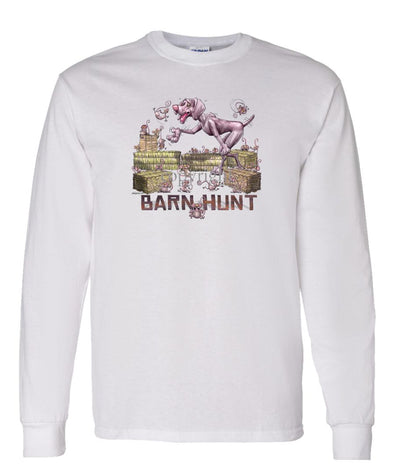 Weimaraner - Barnhunt - Long Sleeve T-Shirt