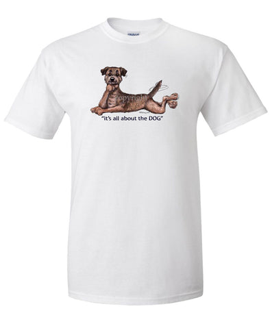 Border Terrier - All About The Dog - T-Shirt