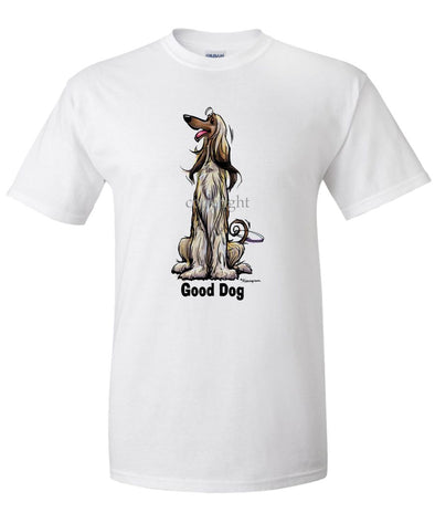 Afghan Hound - Good Dog - T-Shirt
