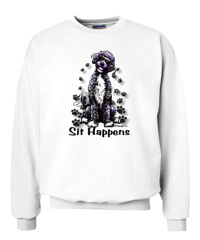 Portuguese Water Dog - Sit Happens - Sweatshirt