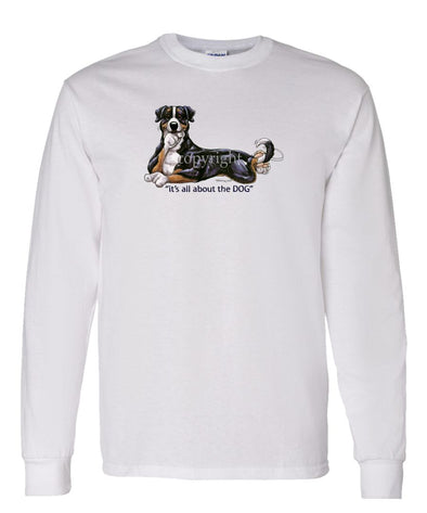 Greater Swiss Mountain Dog - All About The Dog - Long Sleeve T-Shirt