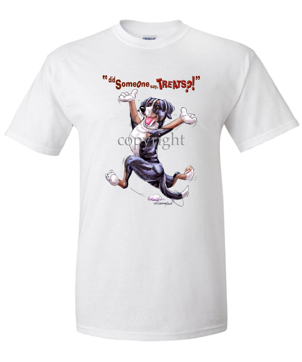 Greater Swiss Mountain Dog - Treats - T-Shirt