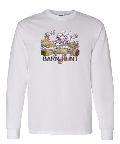 American Eskimo Dog - Barnhunt - Long Sleeve T-Shirt