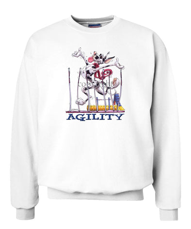 Great Dane  Harlequin - Agility Weave II - Sweatshirt