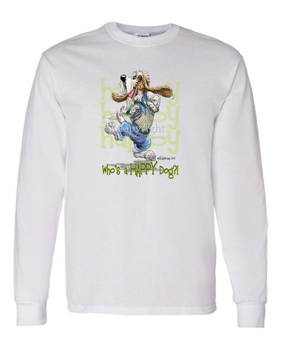 Petit Basset Griffon Vendeen - Who's A Happy Dog - Long Sleeve T-Shirt