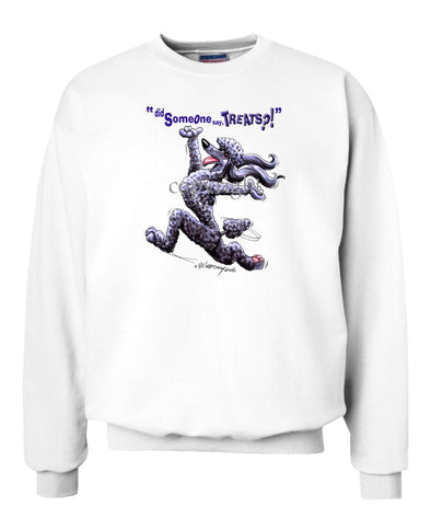 Poodle  Black - Treats - Sweatshirt