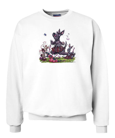 Scottish Terrier - Kilt - Caricature - Sweatshirt