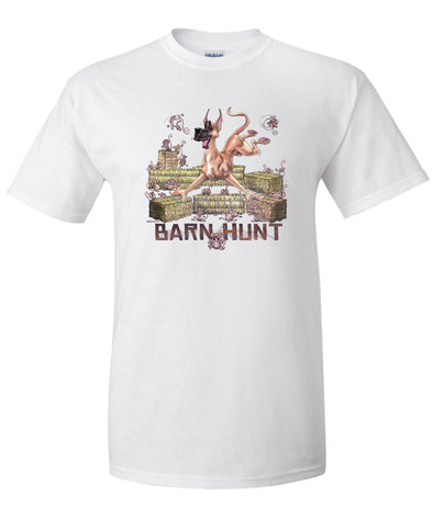 Great Dane - Barnhunt - T-Shirt