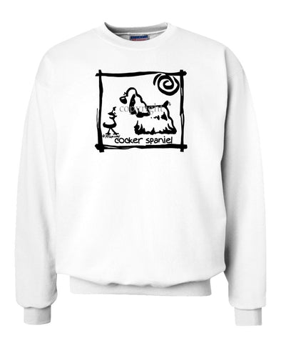 Cocker Spaniel - Cavern Canine - Sweatshirt