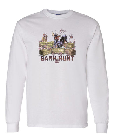 Doberman Pinscher - Barnhunt - Long Sleeve T-Shirt