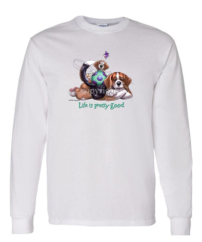Beagle - Life Is Pretty Good - Long Sleeve T-Shirt