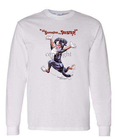 Greater Swiss Mountain Dog - Treats - Long Sleeve T-Shirt