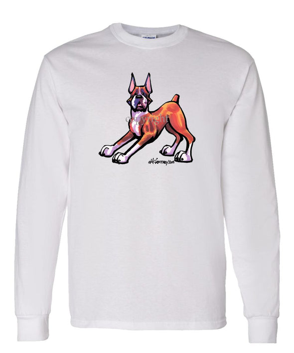Boxer - Cool Dog - Long Sleeve T-Shirt